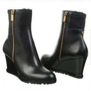 {7.5} Michael Kors Aileen Vachetta Leather Boots